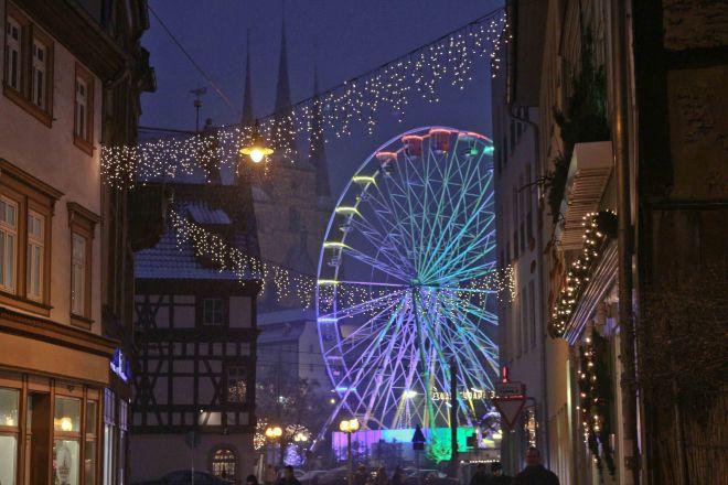 Leipzig Christmas Market 2017